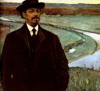 Михаил Нестеров Автопортрет. 1915